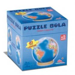 Puzzle Bola Mapa Mundi