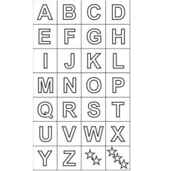 Carimbos Alfabeto Maiúsculo