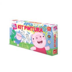 Kit Pintura - Porquinhos Pink