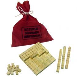 Material Dourado Individual