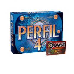 Perfil 4 + Jogo Quest