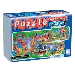Puzzle Progressivo Turma do Tigrinho