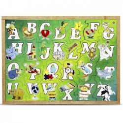 Quebra Cabeça Alfabeto Ilustrado