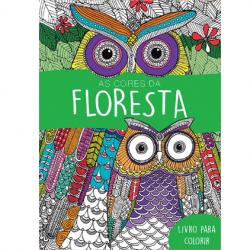 Livro de Pintura - As Cores da Floresta