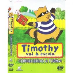 DVD Timothy Vai à Escola -Coleção