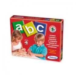 Jogo ABC com 72 peças