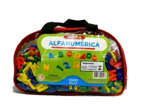 Alfanumérico em Plástico 1000