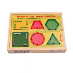 Alinhavos de Caixa de Forma Geometrica