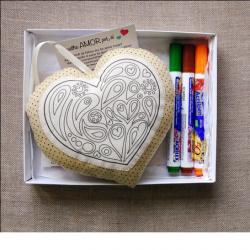 Coração para Pintar
