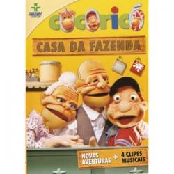DVD Cocoricó Casa da Fazenda