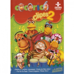 DVD Cocoricó Clipes 2