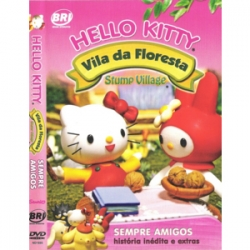 DVD Hello Kitty Sempre Amigos