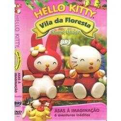 DVD Hello Kitty Vila da Floresta - Asas à Imaginação