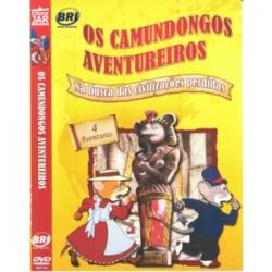 DVD Os Camundongos Aventureiros