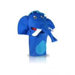 Fantoche Elefante - Azul Escuro