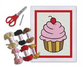 Kit Bordado - Cupcake