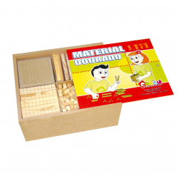 Material Dourado 1111 peças