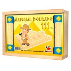 Material Dourado 112 peças
