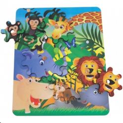 Monte e brinque engrenagens selva