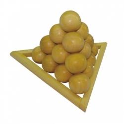Desafio Pirâmide de Bolinhas