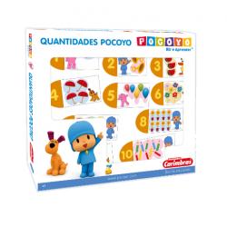 Quantidades Pocoyo - Madeira