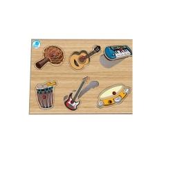 Quebra Cabeça Pinos - Instrumentos Musicais